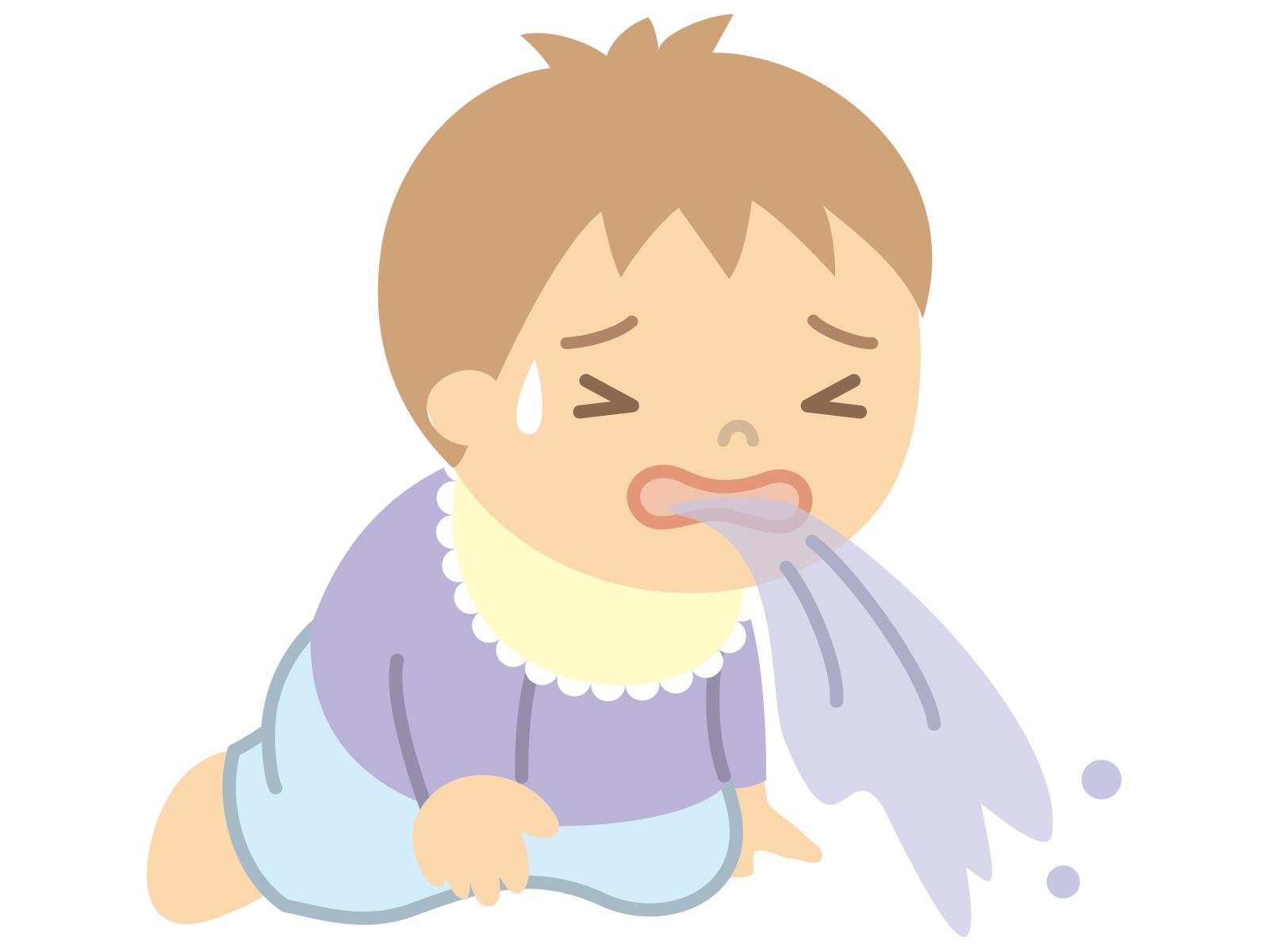 2歳子が突然嘔吐