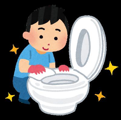 父のトイレ掃除が予想を超えていた